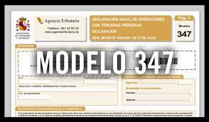 MODELO 347 EN LAS COMUNIDADES DEPROPIETARIOS